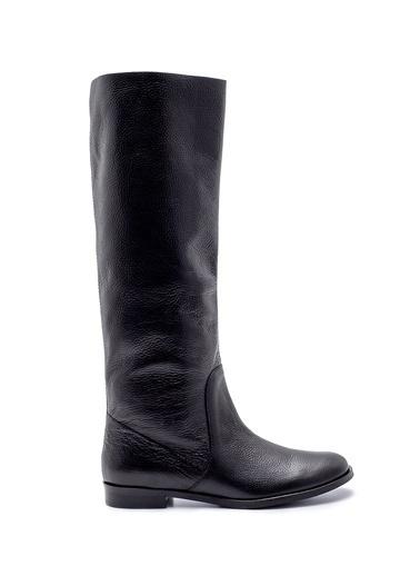 Derimod Kadın Çizme (13167) Casual Siyah